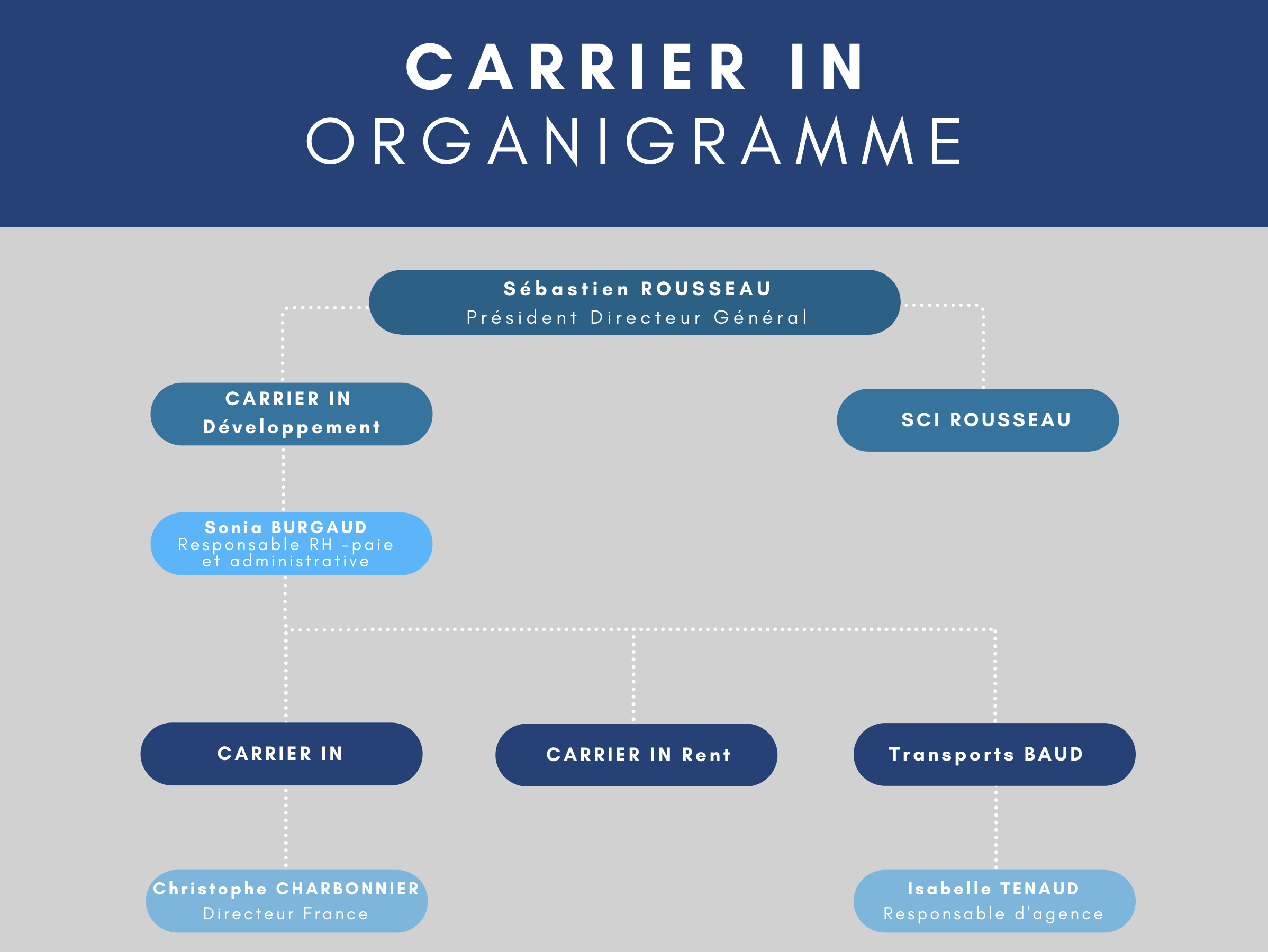 Organigramme Carrier In