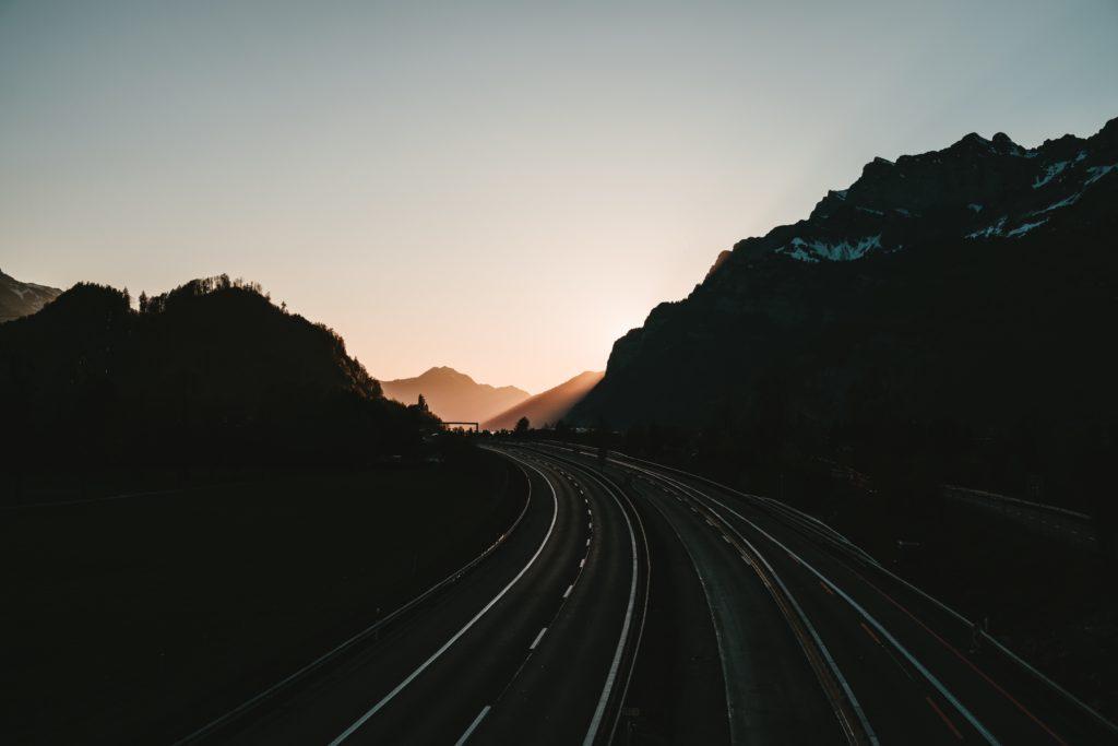 Route Crépuscule